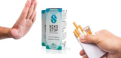 Nikostop picaturi Antistress, Antifumat, ingrediente, mod de administrare