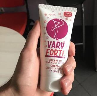VaryForte Crema pentru Varice, ingrediente, mod de utilizare