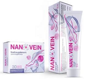 Nanovein Crema Varice, farmacii, forum, ingrediente, pret