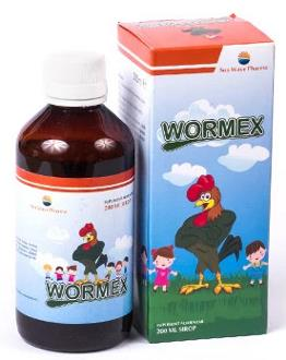 Wormex Sirop Antiparazitar, mod de administrate, ingrediente