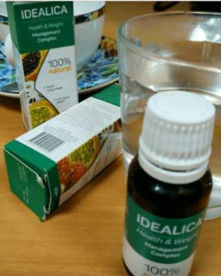 Idealica teapa, ingrediente, prospect, Romania