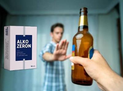 Alkozeron pastile alcoolism, prospect, Romania