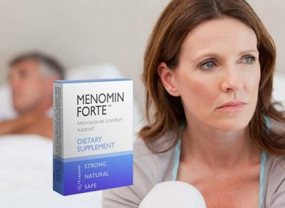 Menomin Forte un produs pentru femeile care trec prin menopauza