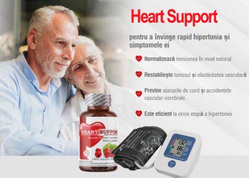 Heart Support pentru hipertensiune, prospect, Romania